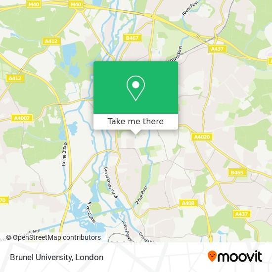 Brunel University map