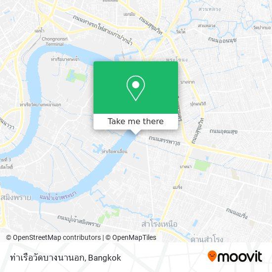 Bang Na Pier map