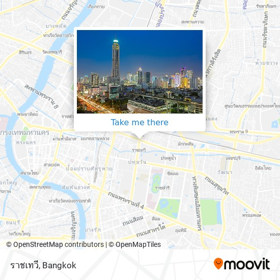 ราชเทวี map