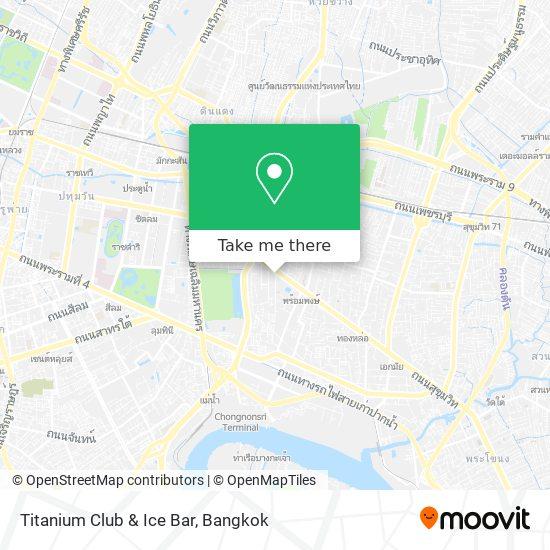 Titanium Club & Ice Bar map
