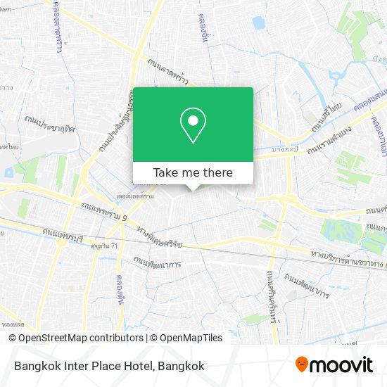 Bangkok Inter Place Hotel map