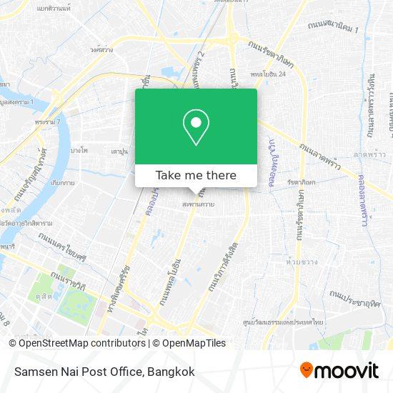 Samsen Nai Post Office map