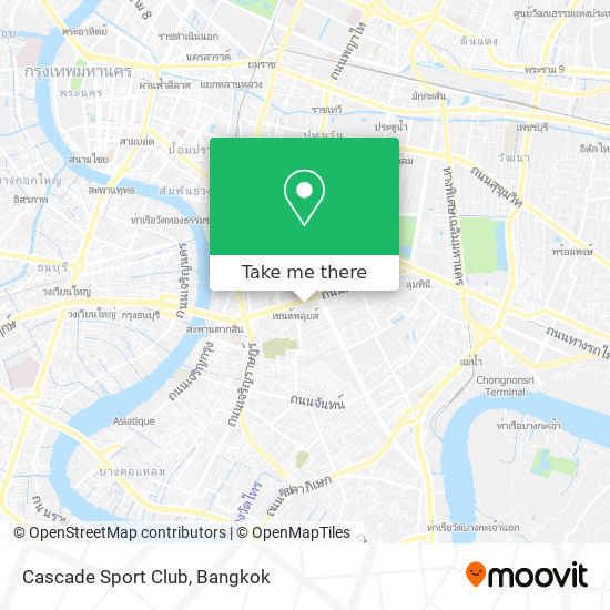Cascade Sport Club map