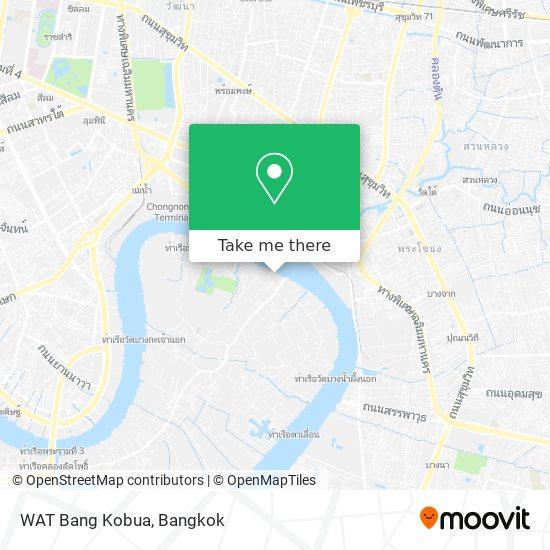 Wat Bang Kobua map