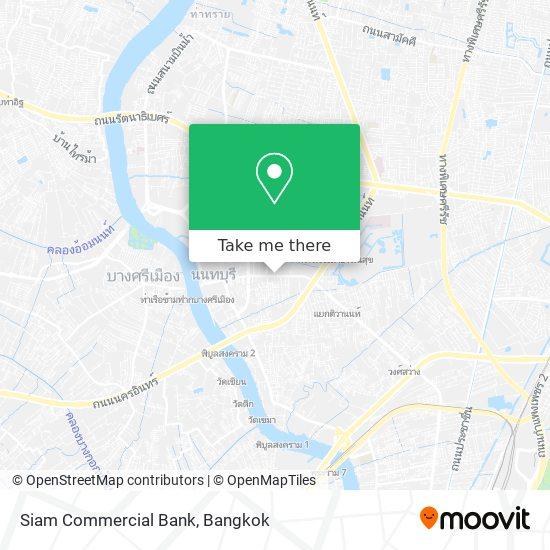 ธนาคารไทยพาณิชย์ สาขานนทบุรี map