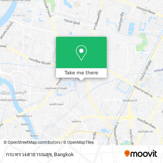 กระทรวงสาธารณสุข map