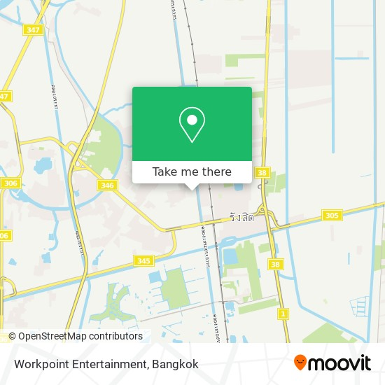 Workpoint Entertainment map