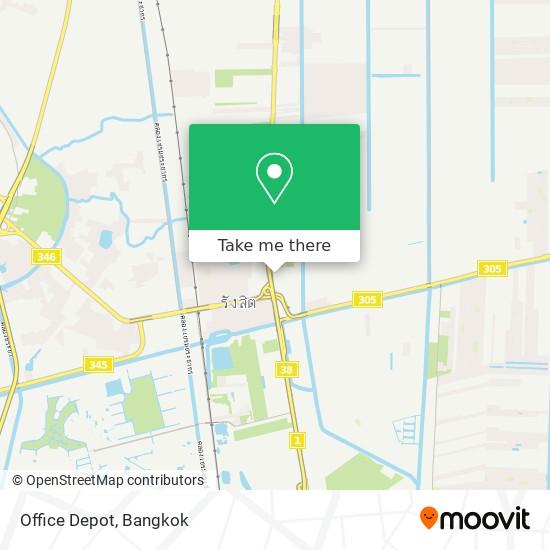 Office Depot map