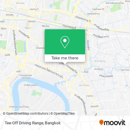Tee-Off Driving Range map