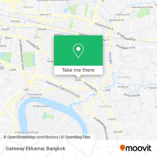 Gateway Ekkamai map