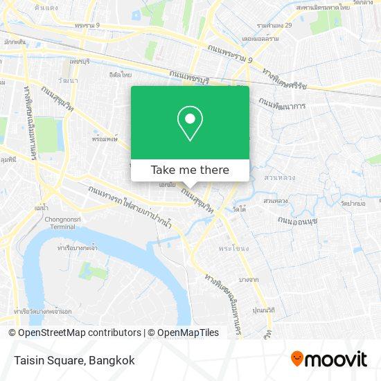 Taisin Square map