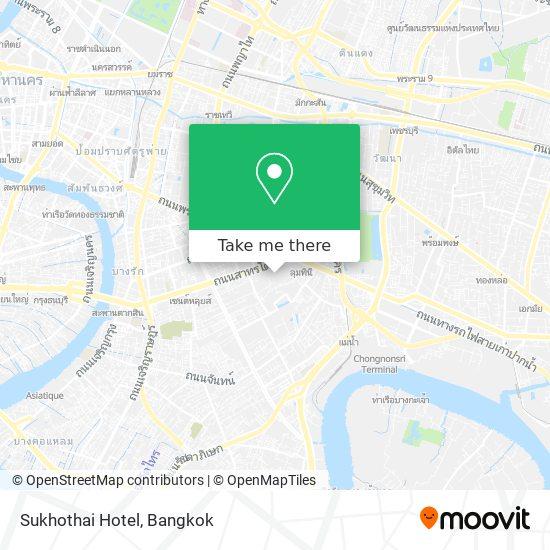 Sukhothai Hotel map