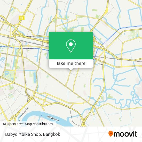 Babydirtbike Shop map