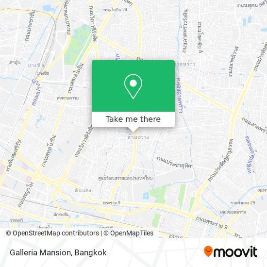 Galleria Mansion map