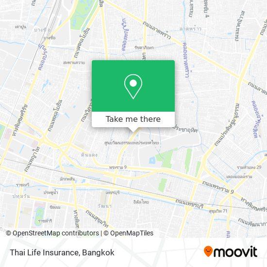 Thai Life Insurance map