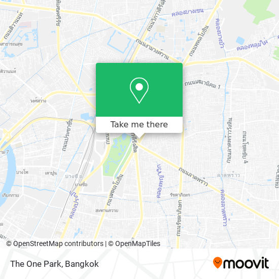The One Park map