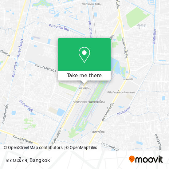 ดอนเมือง map