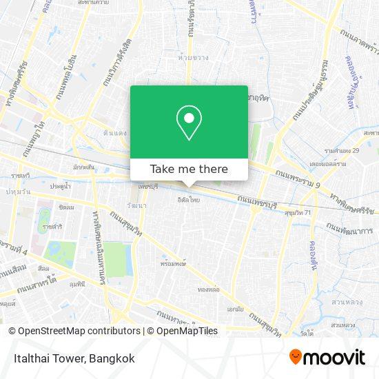 Italthai Tower map