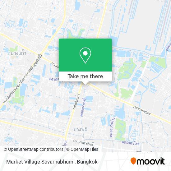 Market Village Suvarnabhumi map
