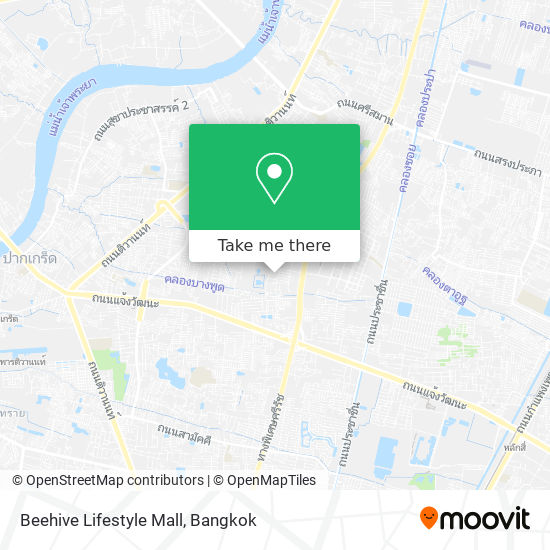 Beehive Lifestyle Mall map