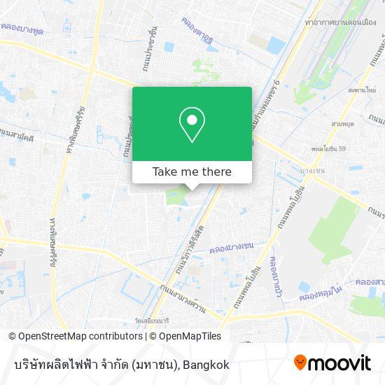 บริษัทผลิตไฟฟ้า จำกัด (มหาชน) map