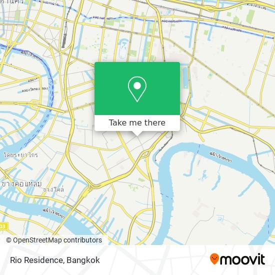 Rio Residence map