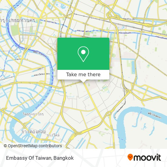 Embassy Of Taiwan map