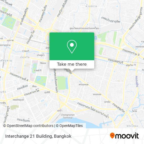 Interchange 21 Building map