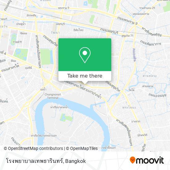 โรงพยาบาลเทพธารินทร์ map