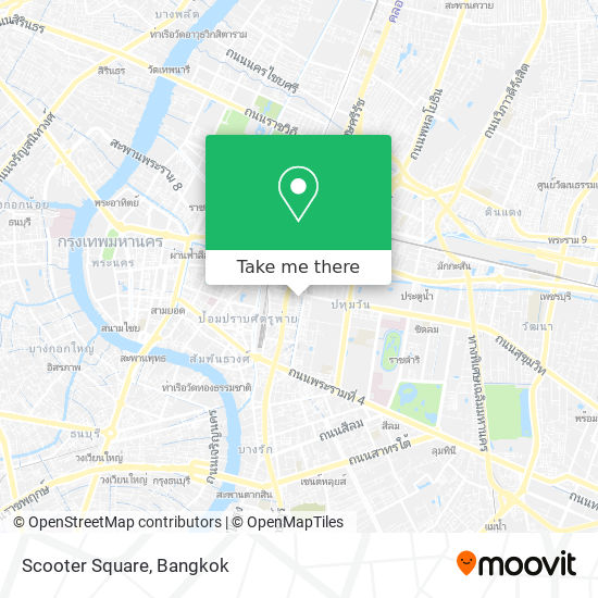 Scooter Square map
