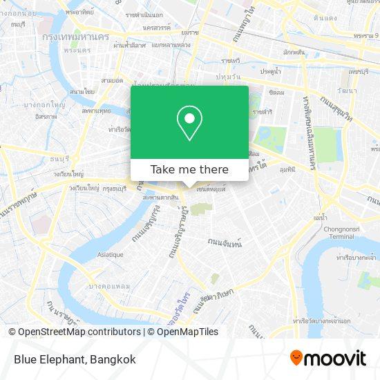 Blue Elephant map