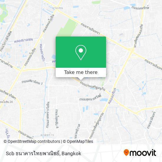 Scb ธนาคารไทยพาณิชย์ map