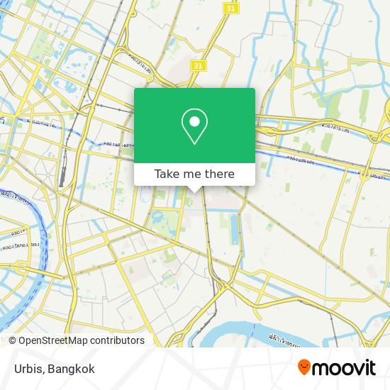 Urbis map