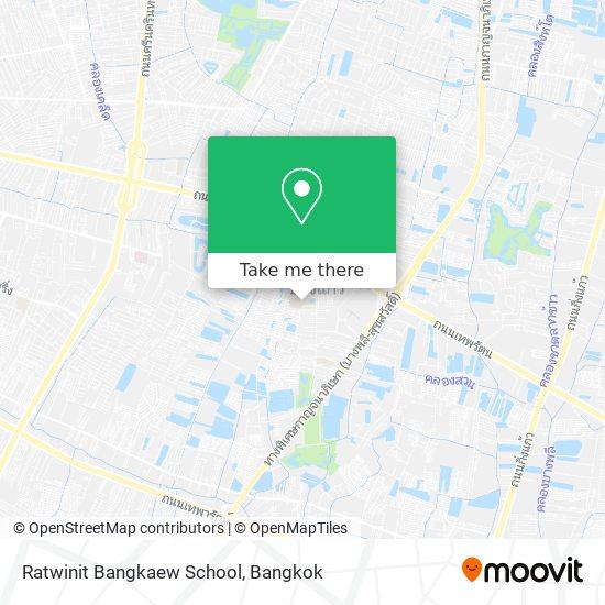 Ratwinit Bangkaew School map