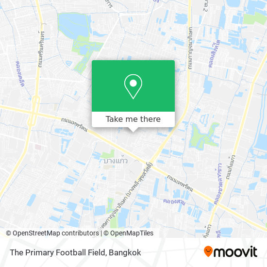 The Primary Football Field map