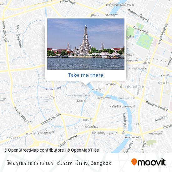 Wat Arun map