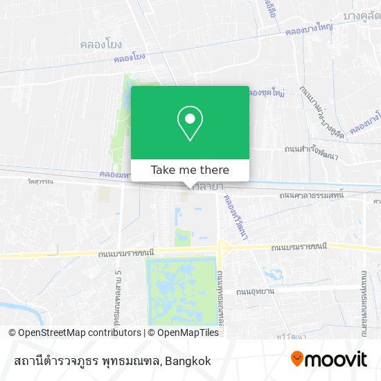 สถานีตำรวจภูธร พุทธมณฑล map