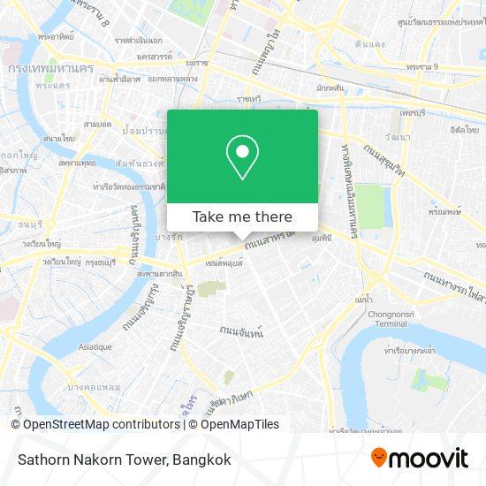 Sathorn Nakorn Tower map