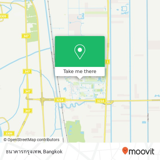 ธนาคารกรุงเทพ map