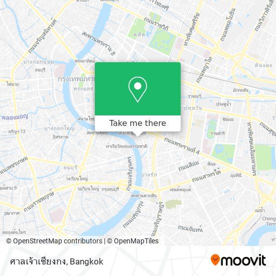 ศาลเจ้าเซียงกง map