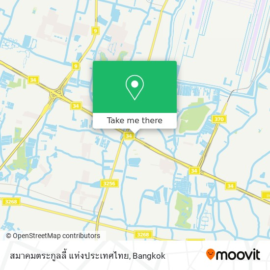 สมาคมตระกูลลี้ แห่งประเทศไทย map