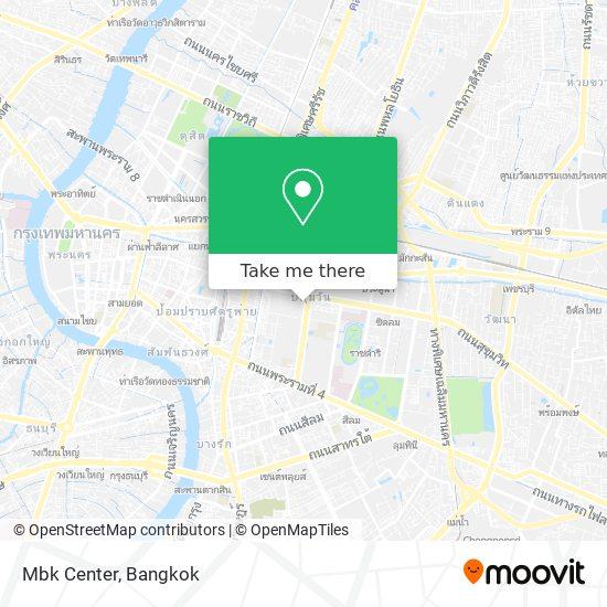 Mbk Center map