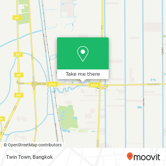 Twin Town map