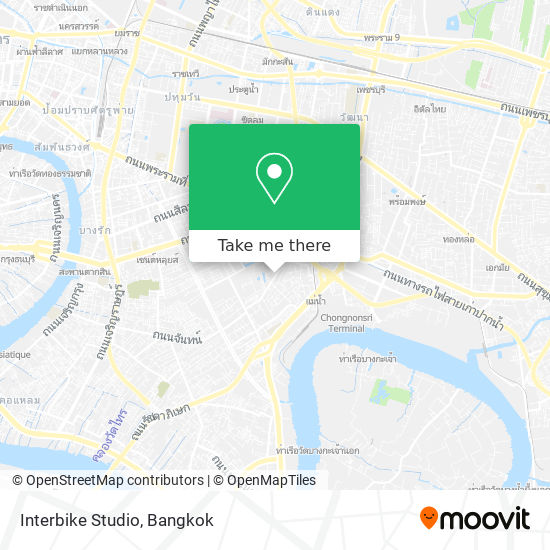 Interbike Studio map