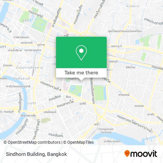 Sindhorn Building map