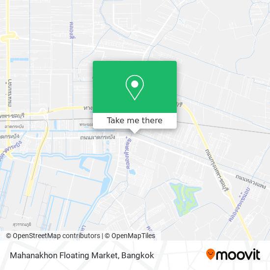Mahanakhon Floating Market map
