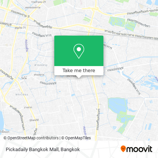 Pickadaily Bangkok Mall map