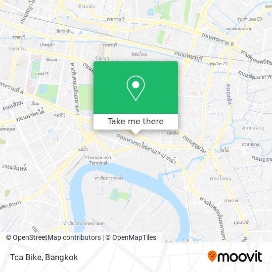 Tca Bike map