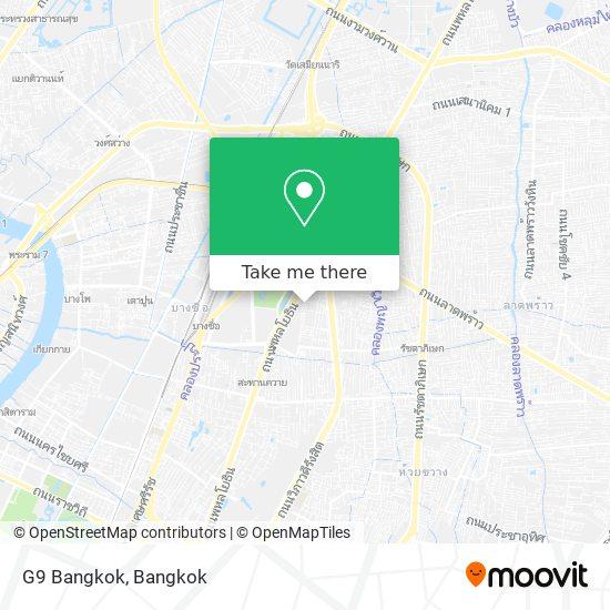 G9 Bangkok map