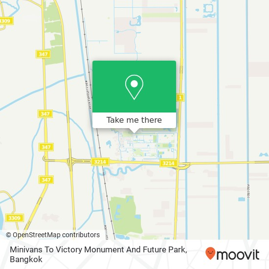 Minivans To Victory Monument And Future Park map